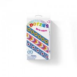 Diamond Dotz Σετ 3 Βραχιόλια Μαργαρίτες