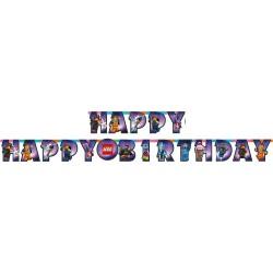 LEGO MOVIE BANNER HAPPY BIRTHDAY