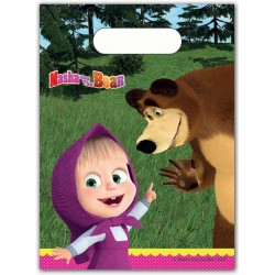 MASHA AND THE BEAR ΣΑΚΟΥΛΑΚΙΑ ΔΩΡΟΥ