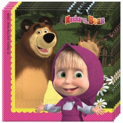 MASHA AND THE BEAR ΧΑΡΤΟΠΕΤΣΕΤΕΣ 20ΤΕΜ