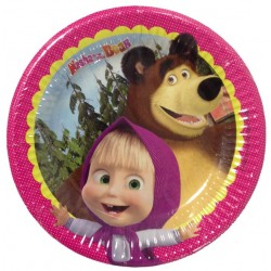 MASHA AND THE BEAR ΠΙΑΤΑ ΜΕΣΑΙΑ