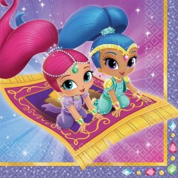 SHIMMER AND SHINE ΧΑΡΤΟΠΕΤΣΕΤΕΣ 20ΤΕΜ